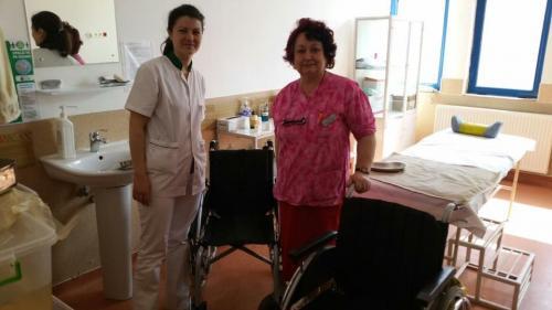 Hilfsprojekt Calarasi März 2016 Rollstühle Krankenhaus 2