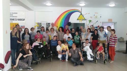 Hilfsprojekt Calarasi März 2016 Rollstühle Krankenhaus 3