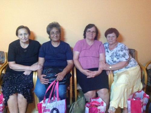 Hilfsprojekt Calarasi Mai 2015 Mircea Voda Frauen gemeinschaft 2